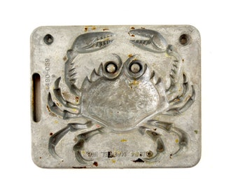 Vintage Giant Creepy Crawlers Crab Mold for Mattel Thingmaker #4490-059 (c.1964) I - Collectible Toy, Oddity, Unique Curio Decor