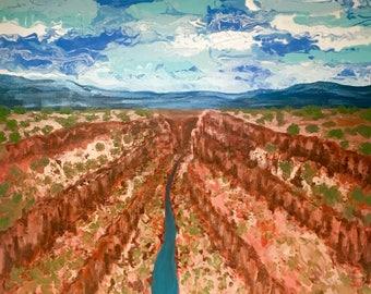 Eagles View of the Rio Grande Gorge