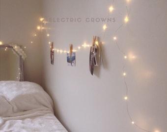 Night Light, Fairy Lights Bedroom, Home Decor, Living Room Wall Decor, Wall