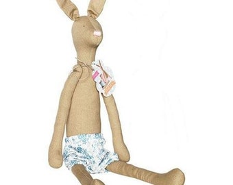"TILDA USA! The Tilda's Friend Bunny Rabbit by Tone Finnanger | Pre-Sewn Bunny Rabbit | 19.5"" Tall 