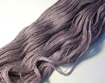 Silk Royal Alpaca Lace in Violet Grey - One of a Kind