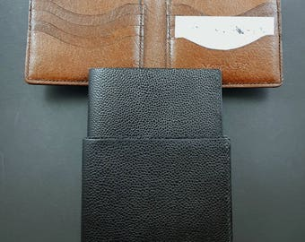 Quality handmade bi fold wallet