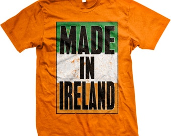 Made in Ireland, St. Patrick's Day, Irish Pride, Irish Flag Men's T-shirt, NOFO_00146