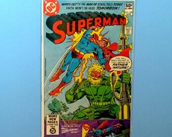 Superman #358 Comic Book, (Grade NM) 1980, DC Comics Superman, B3