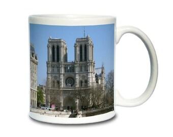 Coffee Mug; Notre Dame Cathedral  De Paris Cm2