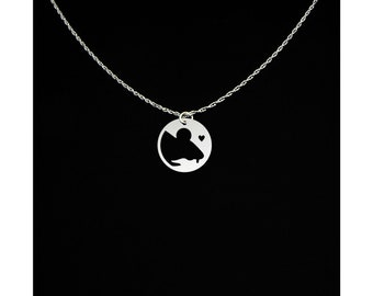 Mouse Necklace - Mouse Jewelry - Mouse Gift