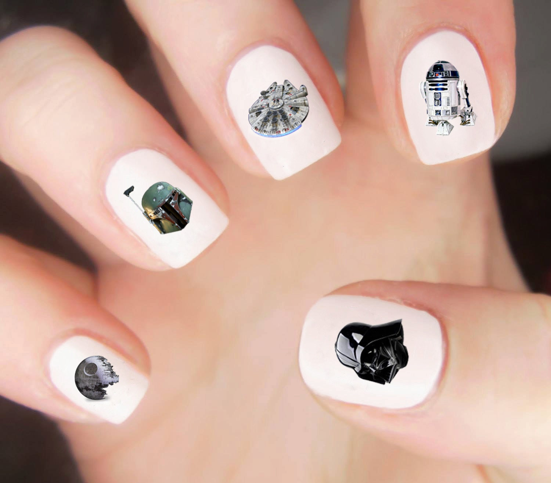 Star Wars Nail Decals / Star Wars Nails / Nail Decal / Star Wars ...