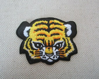Tiger Head Patch, Iron-on Patches, Embroidered Patches for Jeans, Backpacks