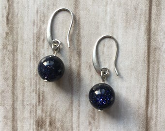 Earrings with gemstones / sale / discount / gemstone / blue / earrings / gift / mothersday | Blue Midnight