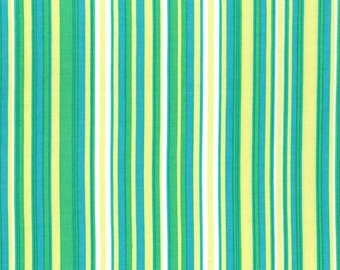 Clearance FABRIC SPRINGTIME STRIPES by Michael Miller 1/2 Yard