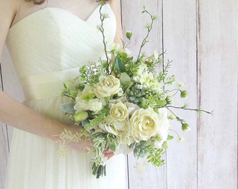 Ivory Garden Bouquet for your Wedding...Example Only!! DO NOT PURCHASE