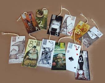 12 Subula Bookmarks
