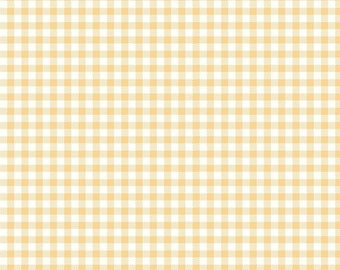 NEW! Bake Sale 2 Fabric - Lori Holt for Riley Blake Designs -Gingham-Yellow