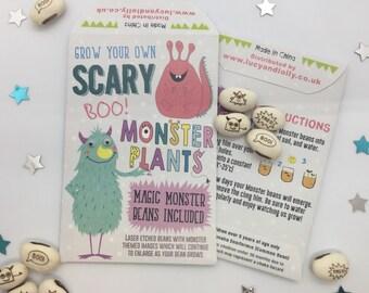 Scary Monster Beans