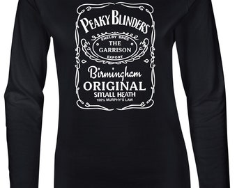 Peaky Blinders Garrison Export Women's Fitted Long Sleeve T-Shirt