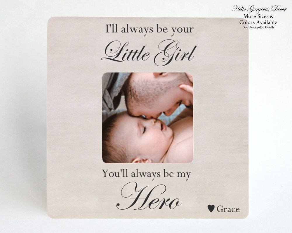 Father\'s Day Gift for Dad from Daughter - Personalized PICTURE FRAME ...