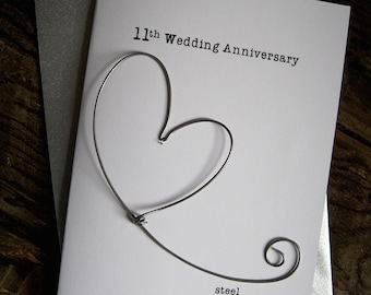 eleven year wedding anniversary traditional gifts