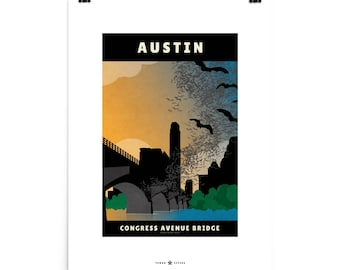 Congress Avenue Bridge, Austin