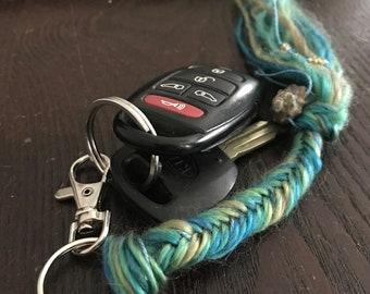 Mermaid Tail Keychain (Teal)