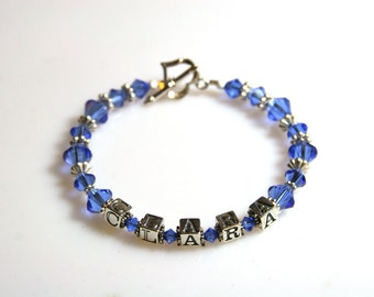 Mother's Bracelet Blue