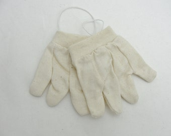 Miniature gardening gloves, mini gloves