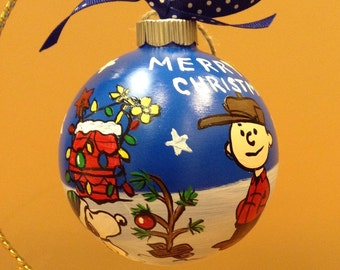 Charlie Brown Christmas Ornament