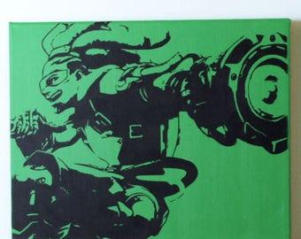 Overwatch Lucio Canvas (Sale)