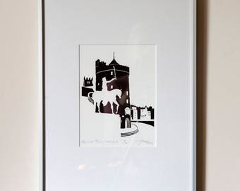 Reginald's Tower, Waterford - giclee print