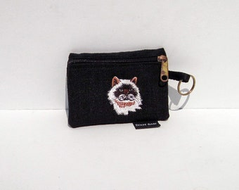 Himalayan Cat Coin Purse