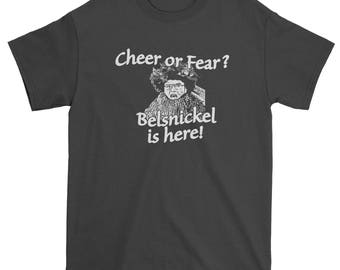 Belsnickel Cheer or Fear Christmas Office Men's T-Shirt