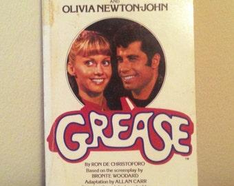 """Vintage """"Grease"""" Novel"""