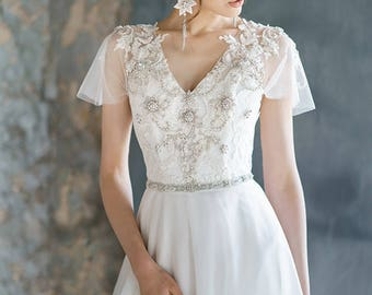 Short Wedding Dress Lace Corset