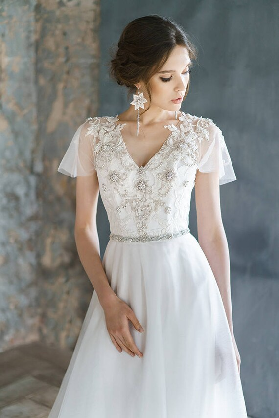 Sexy Short Corset Wedding Dress