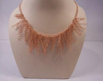 Copper Coils Necklace