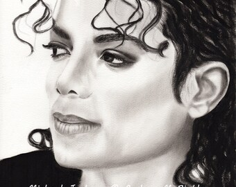 Michael Jackson Art Print, Michael Jackson Poster Print, Michael Jackson Wall Decor, Michael Jackson Painting Print