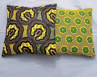 Throw Pillow Covers, Yellow Multi
