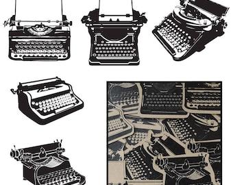 Maya Road Transparency Typewriters