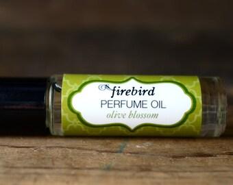 Olive Blossom Perfume Oil, Green Tea, Olive Blossom, Sparkling Lemon