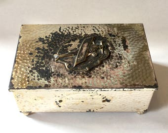 Spirit of St. Louis Cigarette Box, Nat. Aeronautic Meeting, Ca: 1929
