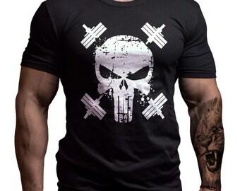 Punisher Fitness Custom Design T-shirt