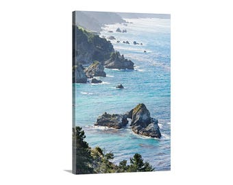 California Coastline Photograph, Big Sur Seascape Art, Big Sur Picture, Pacific Coast Highway 1 Picture, Big Sur Art, California Gift