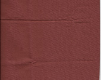 "New Burgundy Solid 100% Cotton Fabric 34"" x 44"" Piece"