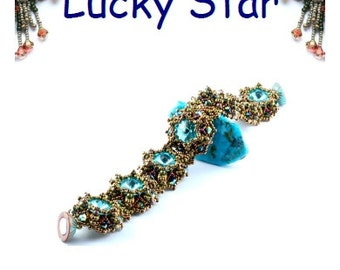 Lucky Star bracelet tutorial English PDF file
