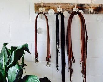 Leather Crossbody Straps - Leather bag strap