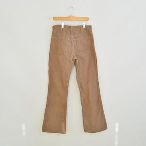 Levi's Flare Coduroys 1970's Era White Tab Retro Levi's Cords Men's Size 32/31.5 Tan Cords Talon Zipper NxYu7