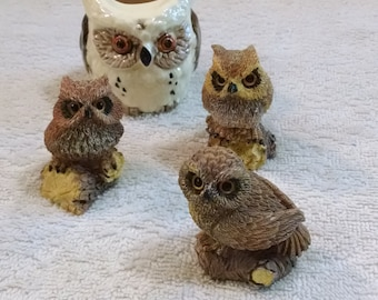 Instant Owl Figurine Collection