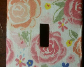 Rose Light Switch Cover