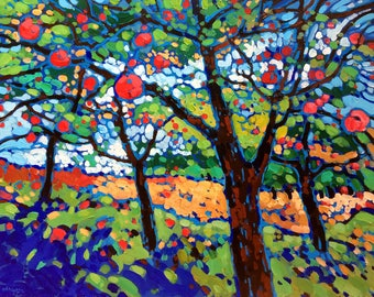 Ready for Picking - Acrylic Painting (24x30)