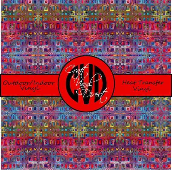 Beautiful Patterned Vinyl // Patterned / Printed Vinyl // Outdoor and Heat Transfer Vinyl // Pattern 294