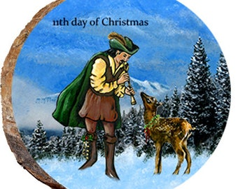 11th Day of Christmas Elk - DX223
